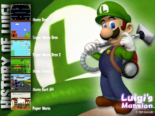 history wallpaper. Wallpaper of Luigi#39;s History