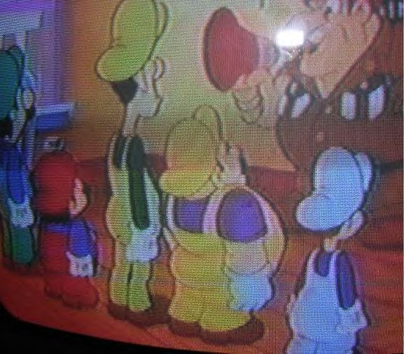 Does the Super Mario Bros  Super Show foreshadow Wario and