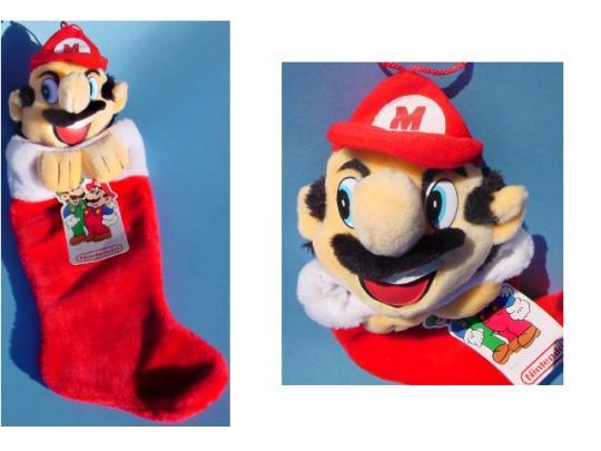 Super Mario Christmas Stocking.Mario Brothers Christmas Stocking Related Keywords
