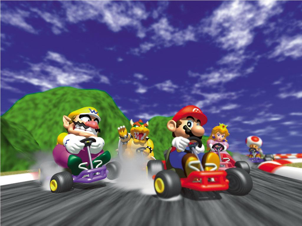 Tmk Downloads Images Wallpaper Mario Kart 64 N64