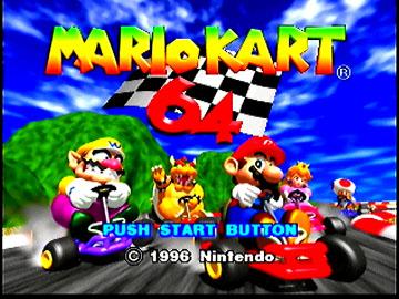 Tmk Downloads Images Mario Kart 64 N64