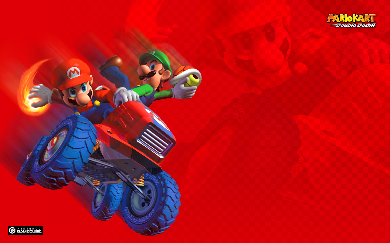 Tmk Downloads Images Wallpaper Mario Kart Double Dash Gcn