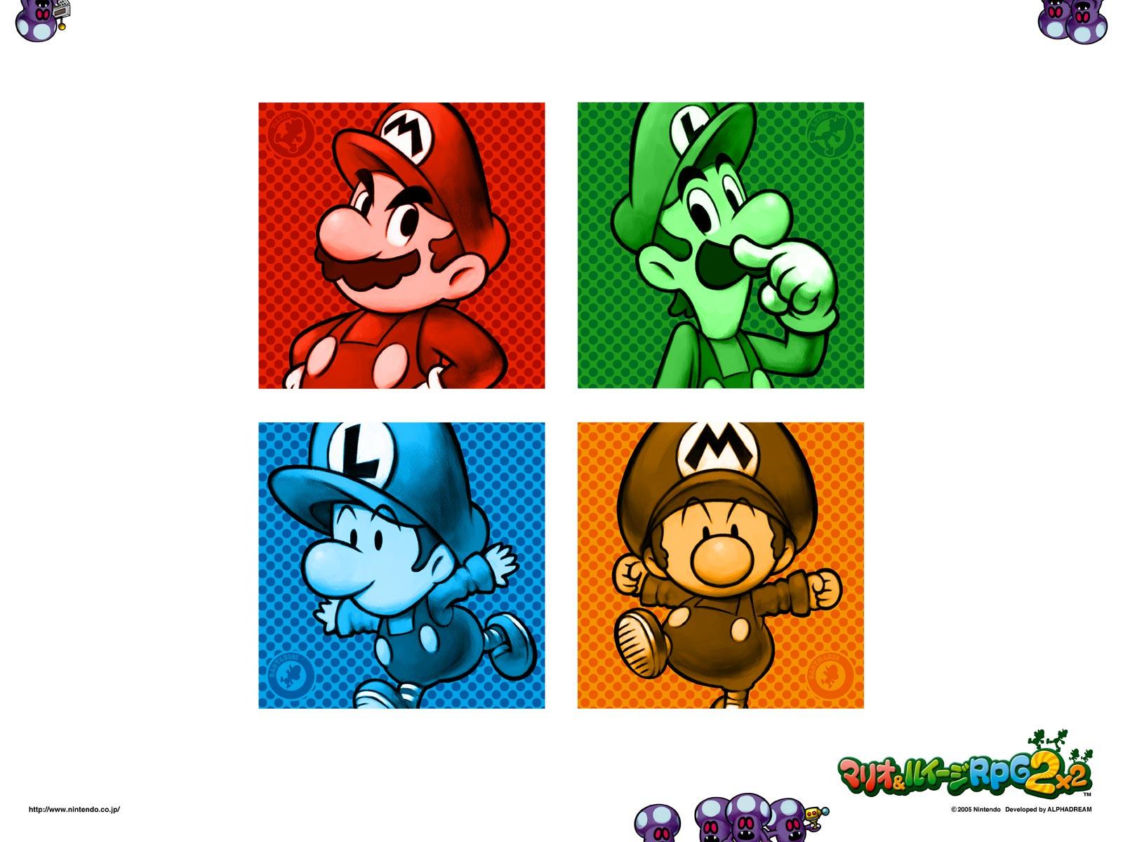 Tmk Downloads Images Wallpaper Mario Luigi
