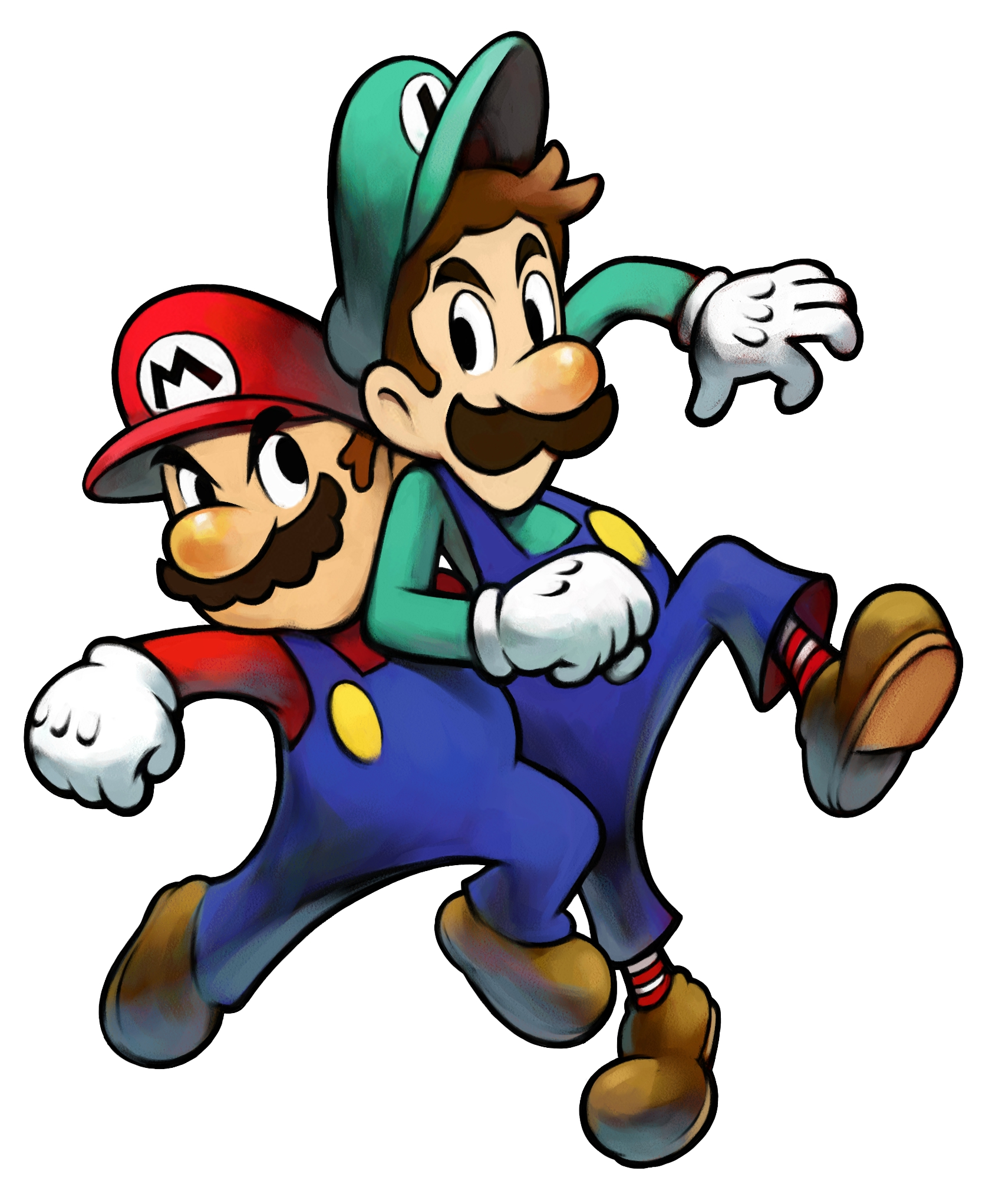 Tmk Downloads Images Mario Luigi Superstar Saga Gba