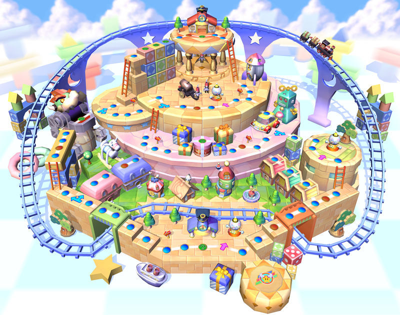 Tmk Downloads Images Mario Party 5 Gcn