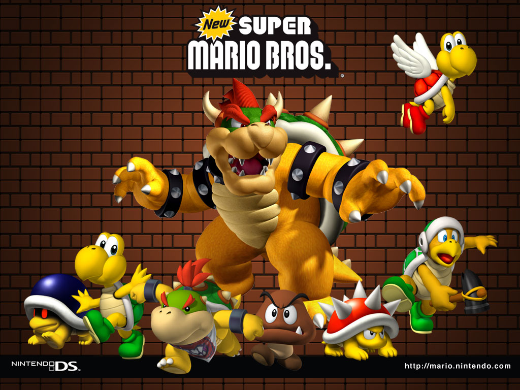 TMK | Downloads | Images | New Super Mario Bros  (NDS)