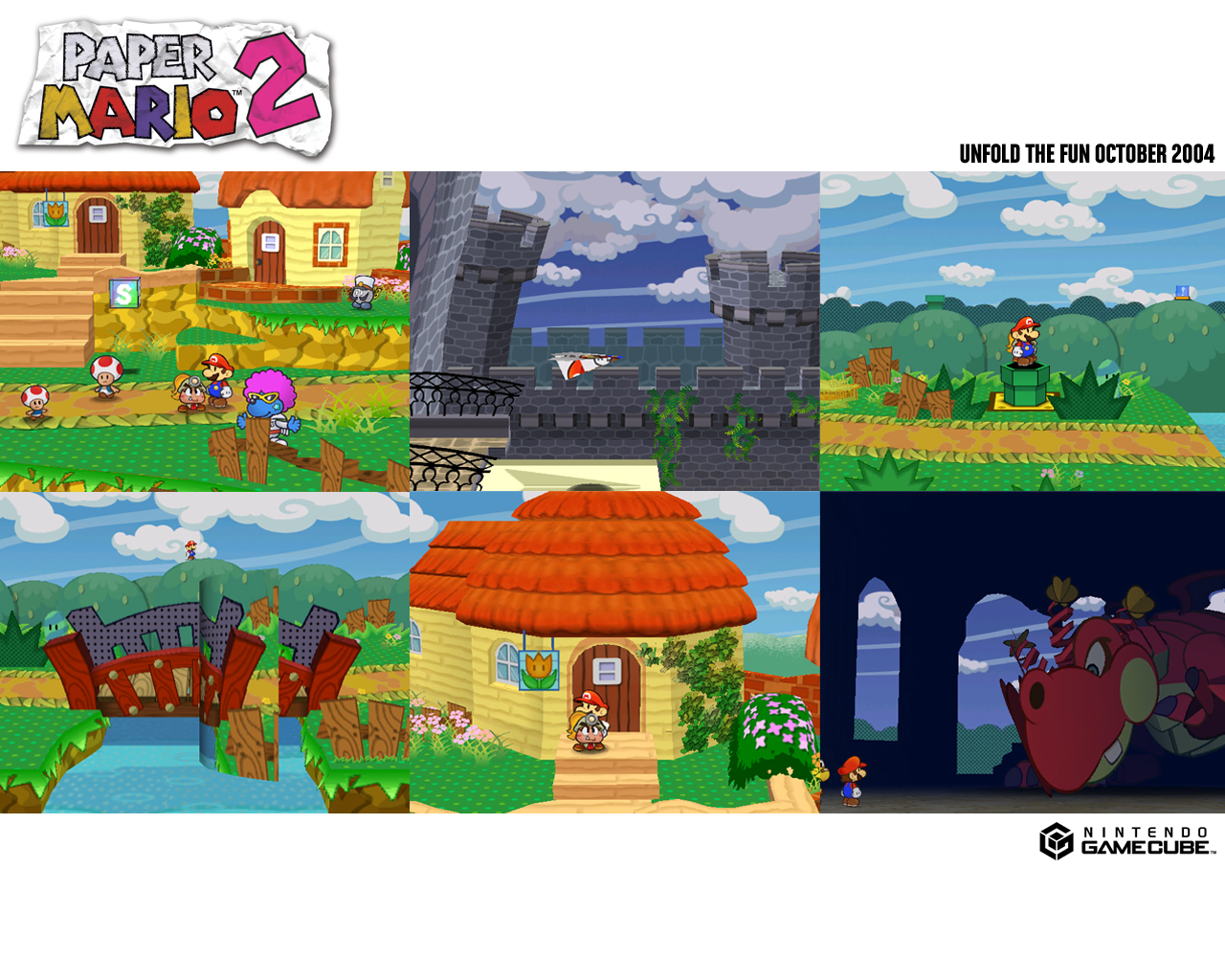 Tmk Downloads Images Wallpaper Paper Mario The Thousand