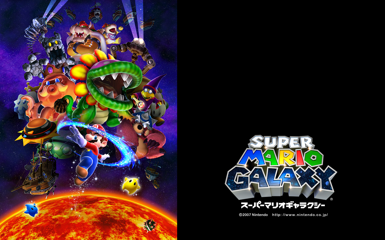Super Mario Galaxy Wallpaper For Android ✓ The Galleries of HD