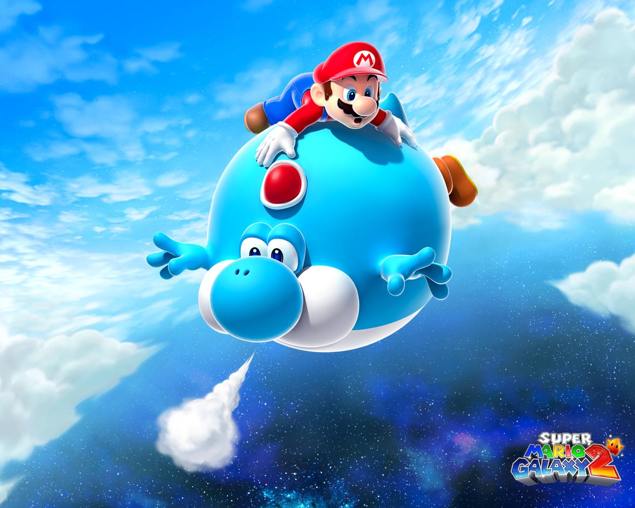 Super Mario Galaxy Wallpaper: Super Mario Galaxy