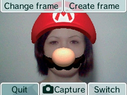 Nintendo DSi Camera screen shot
