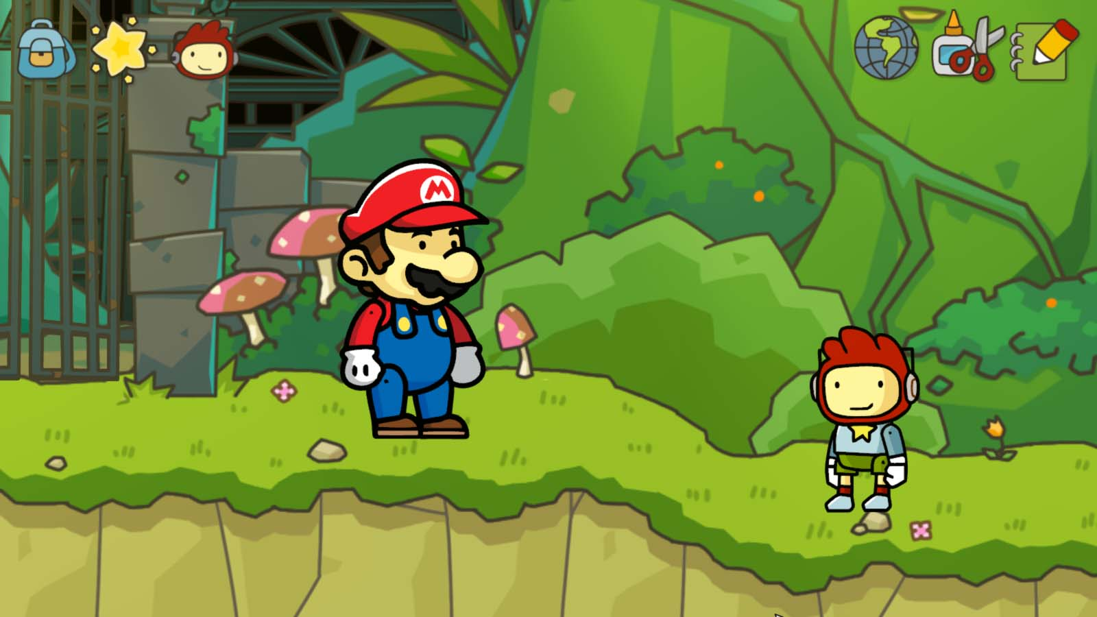 TMK | The Games | Wii U | Scribblenauts Unlimited