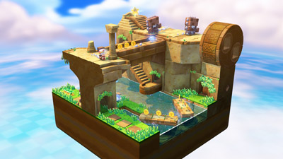 Captain Toad: Treasure Tracker screen shot