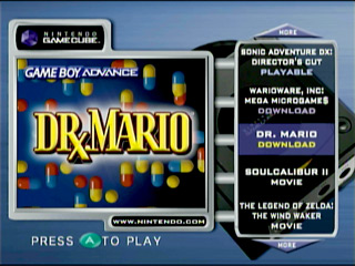 gamecube preview disc