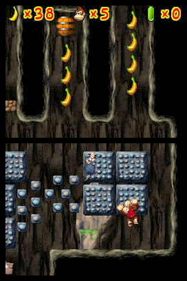 DK Jungle Climber screen shot