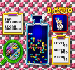 Dr. Mario screen shot