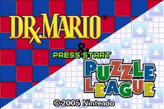 Dr. Mario & Puzzle League screen shot