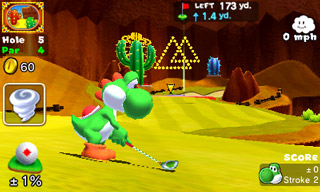 Mario Golf: World Tour screen shot