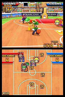 Mario Hoops 3-on-3 screen shot