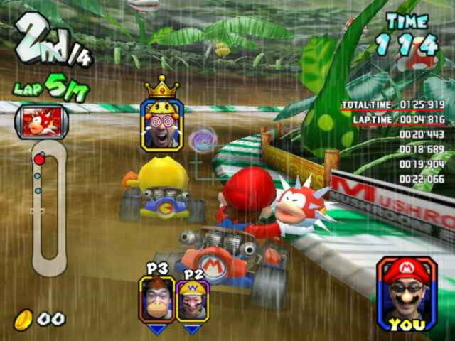 Mario Kart Arcade GP screen shot