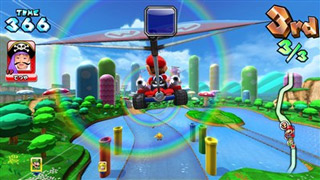 Mario Kart Arcade GP DX screen shot