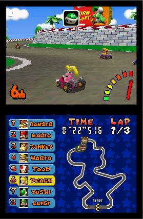 TMK | Downloads | Images | Screen Shots | Mario Kart DS (NDS)