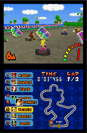 Mario Kart DS screen shot