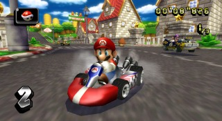 Mario Kart Wii screen shot