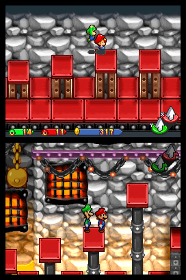 Mario & Luigi: Partners in Time screen shot