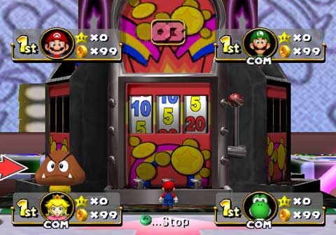 paper mario slot machine