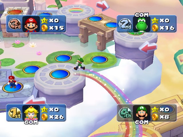 Tmk Downloads Images Screen Shots Mario Party 5 Gcn