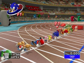 Mario & Sonic at the Olympic Games screen shot