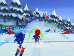 Mario & Sonic at the Olympic Winter Games screen shot