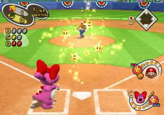 Mario Superstar Baseball screen shot