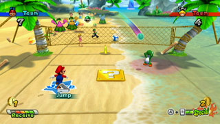 Mario Sports Mix screen shot