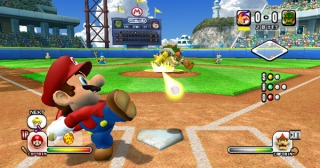 Mario Super Sluggers screen shot