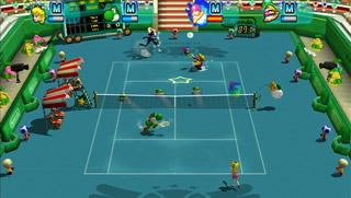 New Play Control! Mario Power Tennis screen shot