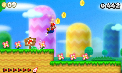 New Super Mario Bros. 2 screen shot