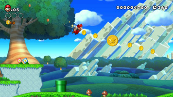 New Super Mario Bros. U screen shot