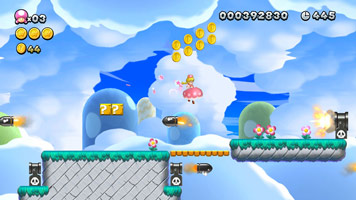 New Super Mario Bros. U Deluxe screen shot