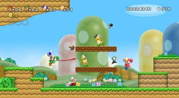 New Super Mario Bros. Wii screen shot