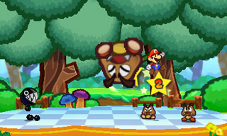 Paper Mario: Sticker Star screen shot
