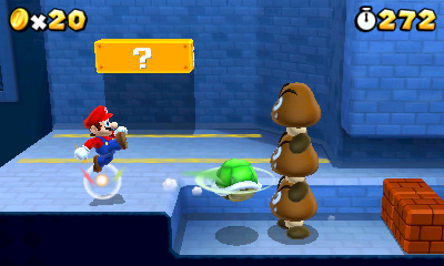 Super Mario 3D Land screen shot