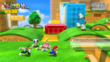 Super Mario 3D World screen shot