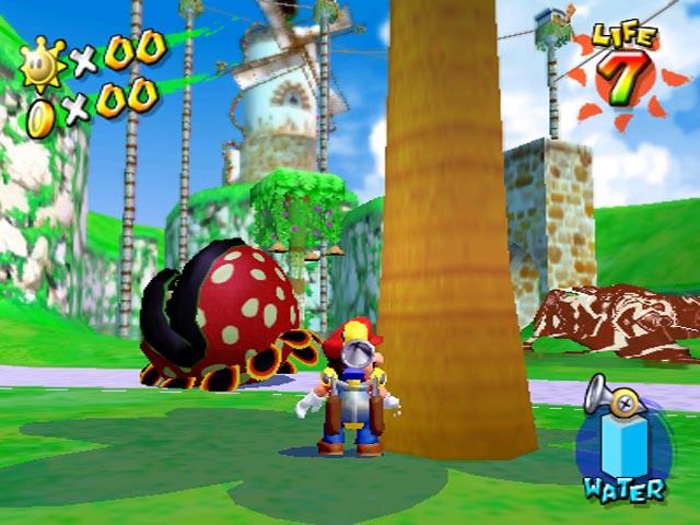 Tmk The Games Previews Super Mario Sunshine
