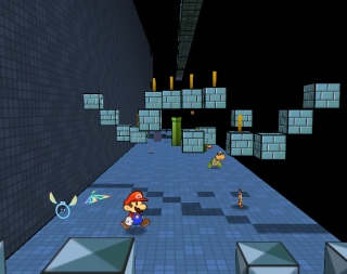 Super Paper Mario screen shot