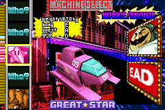 F-Zero Climax screen shot