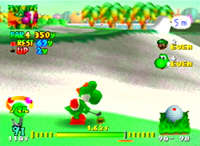 Mario Golf screen shot
