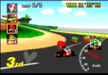 Mario Kart 64 screen shot
