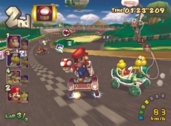 Mario Kart: Double Dash!! screen shot