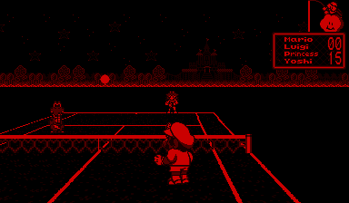 Mario's Tennis screen shot
